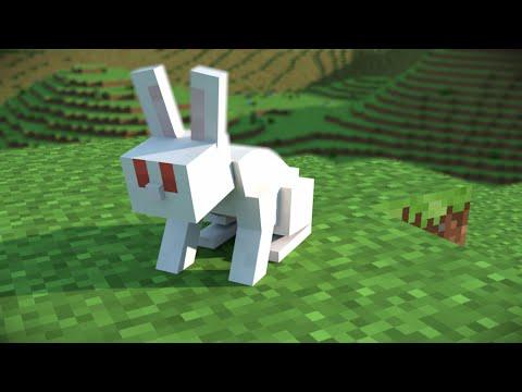 Minecraft Animation | The Giant Rabbit