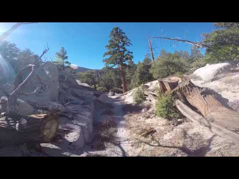 Snow Creek Village to San Jacinto Peak to Palm Springs Tram (11-11-2016)
