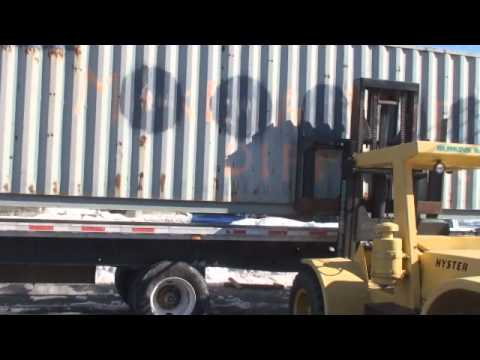 raw video SHIPPING THE CONTAINER.wmv