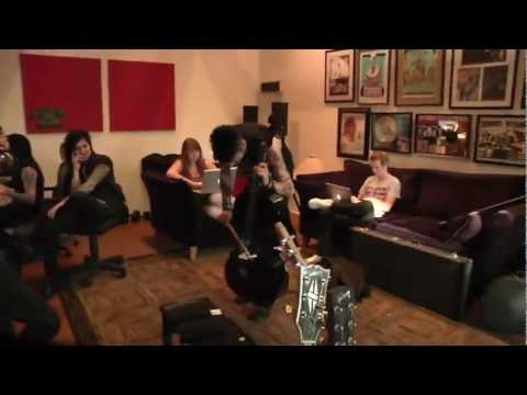Andy Biersack Playing Jaws on the Cello