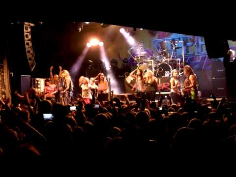 Steel Panther - Party All Day / Death To All But Metal @ The Circus, Hellsinki 21.10.2012