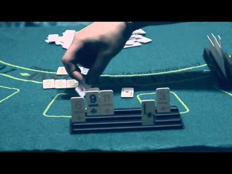 Настольная игра Румми  - пример игры, обзор правил \ Rummy board game