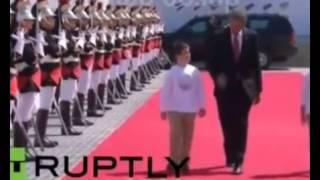 Путин Обама Порошенко В нормандии выходят из своих авто