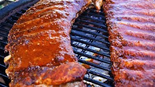 Memphis Style Rendezvous BBQ Pork Spare Ribs