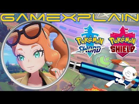 Pokemon Sword Shield Analysis Gym Battles New Characters