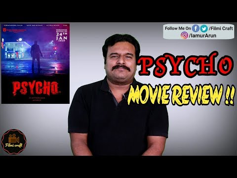 Psycho Movie Review By #Filmicraft Arun | Mysskin | Ilaiyaraja | Udhayanidhi Stalin