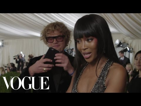 Naomi Campbell on Eating Whatever She Wants and Traveling the World | Met Gala 2016
