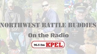 Northwest Battle Buddies discussed live on the radio on 96.5FM KPEL in Lafayette, Louisiana