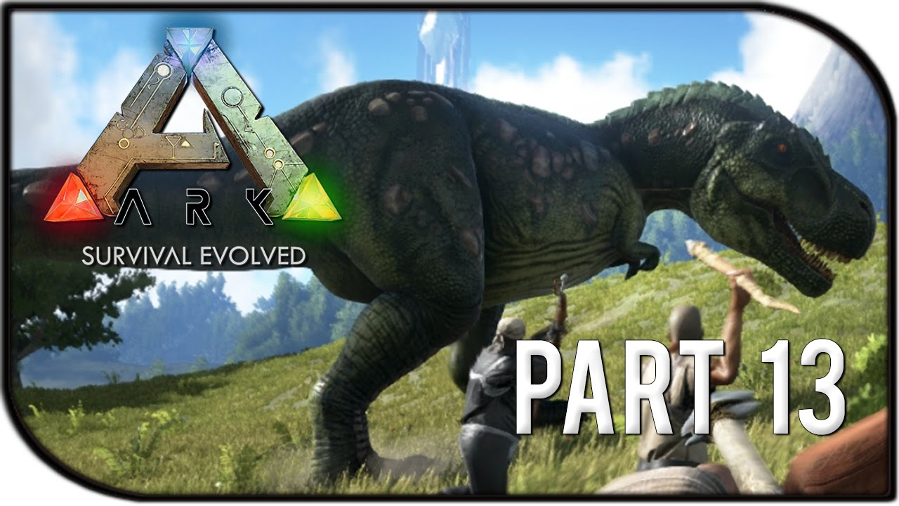 Ark Survival Evolved Gameplay Part  T Rex Rampage Trying To Tame A Scorpion Youtube