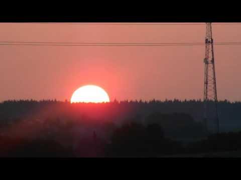 Восход солнца с.Возмище
