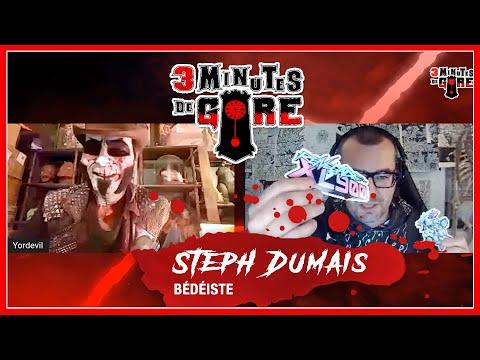 [3 minutes de gore – En quarantaine, encore!] Steph Dumais et sa BD cyberpunk «Renegade XL900»