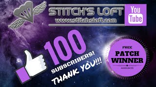 100 SUBSCRIBERS! FREE Stargate Patch Giveaway!
