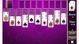 How to play Black Widow Solitaire game | Free PC & Mobile Online Games | GameJP net