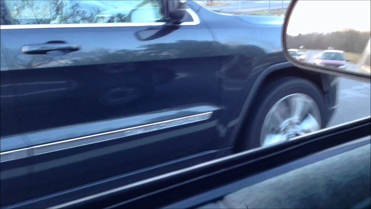Jeep grand cherokee wk2 5 7 hemi borla cat back drive by take off