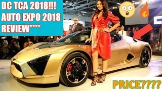 DC TCA 2018 unveiled by Sonakshi Sinha at (AUTO EXPO 2018) | Car Guru |