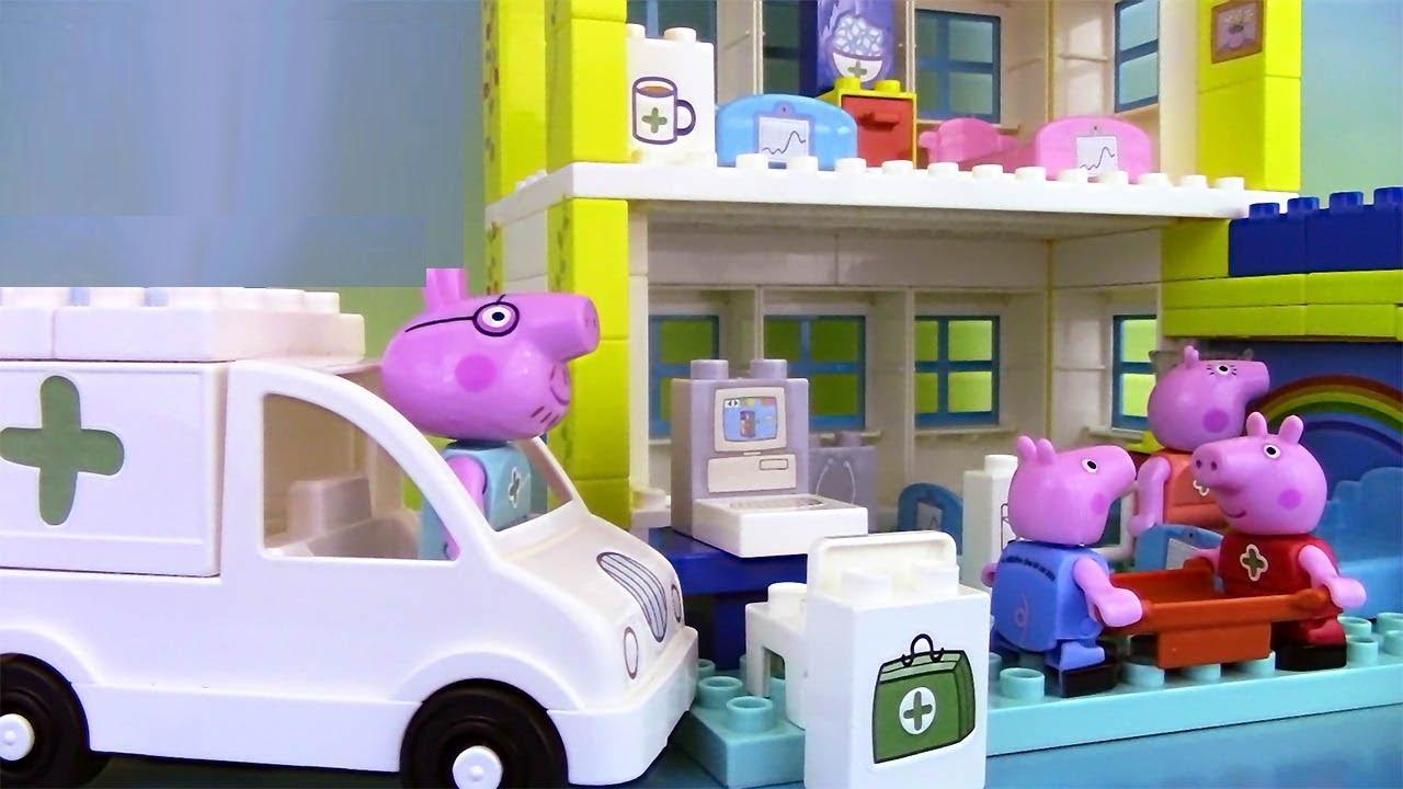 peppa pig blocks hospital building set jeu de construction de l hopital
