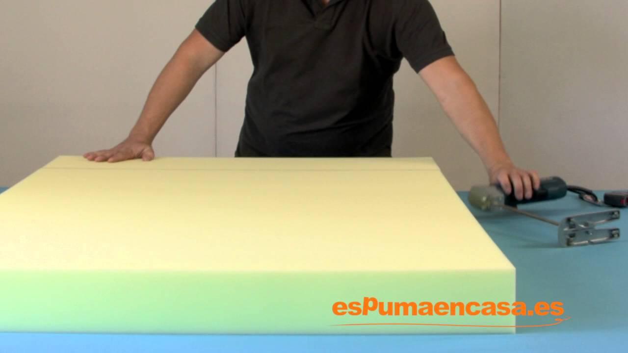 d781fb47e6c Máquina eléctrica para corte de espuma - YouTube