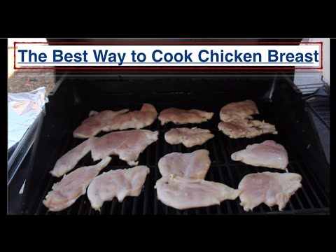 best way to cook a chicken breast