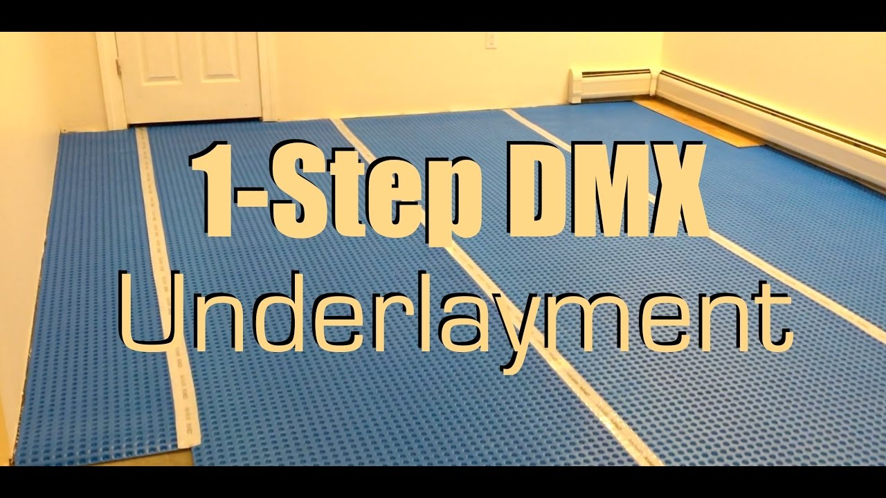 1 Step DMX Underlayment For Basement Floor