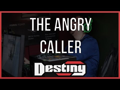 The angry caller