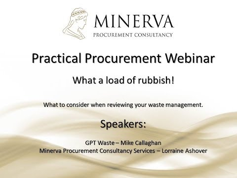 What a load of rubbish! - Waste Management Webinar