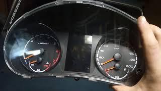 видео Установка новой панели приборов с навигацией от Приоры на ВАЗ 2110