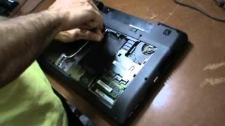 разборка ноутбука Lenovo Idea Pad Z580