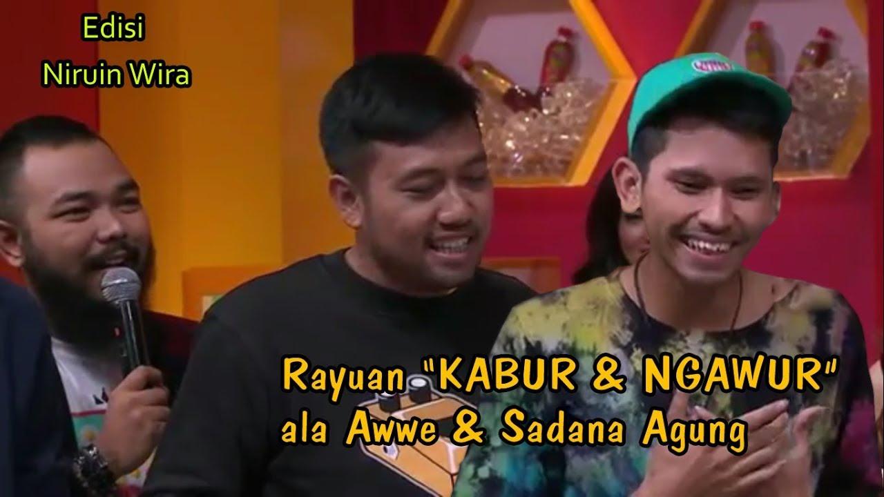 AWe VS Sadana Agung, Anjir Kocak Abis, Jagoan mana nih ?