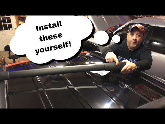 How To Install Roof Rail Crossbars on a Jeep Renegade