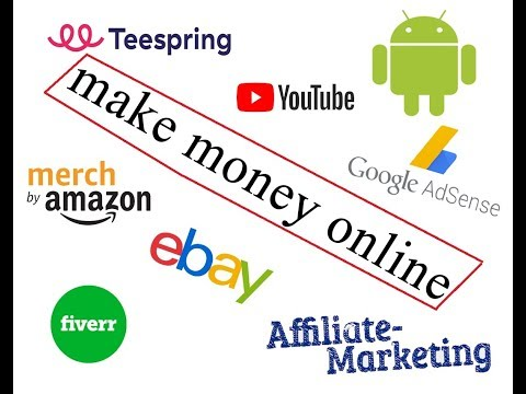 شرح اهم مجالات الاشتغال و الربح اونلاين |Dropshipping-Affiliate-Riskin-Merch-Fiverr-Teespring| thumbnail