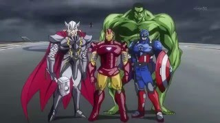 Avengers.If Avengers were an anime.