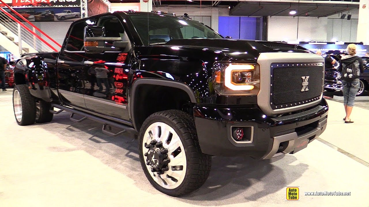 2017 GMC Sierra 3500 HD with Anzo Lights - Walkaround ...