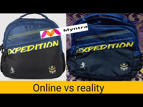 Unboxing & review of skybag backpack from Myntra.
