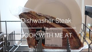 Dishwasher Steak - Perfect Redneck Sous Vide Steak For You - COOK WITH ME.AT