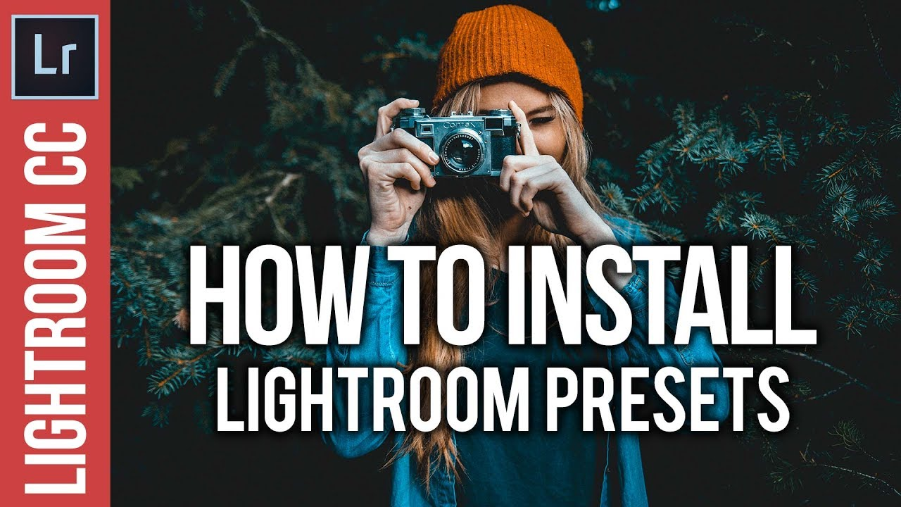 How to Install Lightroom Presets the EASY Way!