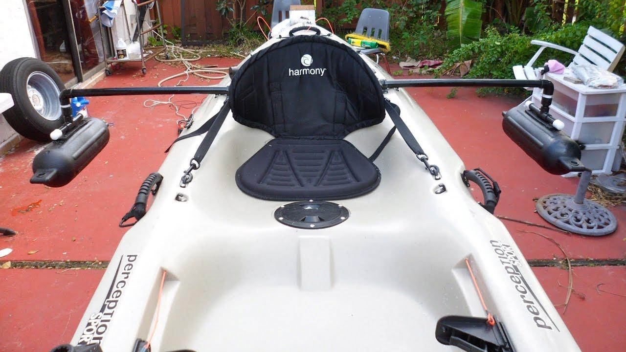 Diy Homemade Kayak Stabilizers Outriggers Pontoons