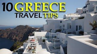 10 TRAVEL TIPS for GREECE