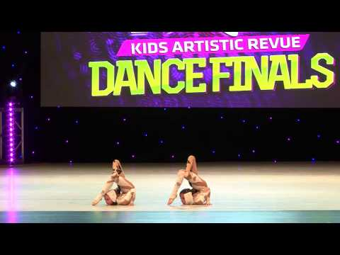 Kaitlyn Allen with AL Good Vs Evil  National Overall High Score Petite Duo/Trio ages 8 and 9