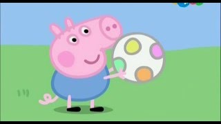 Свинка Пеппа - онлайн по русски. Серии Лучшие подруги,Гроза,Блины