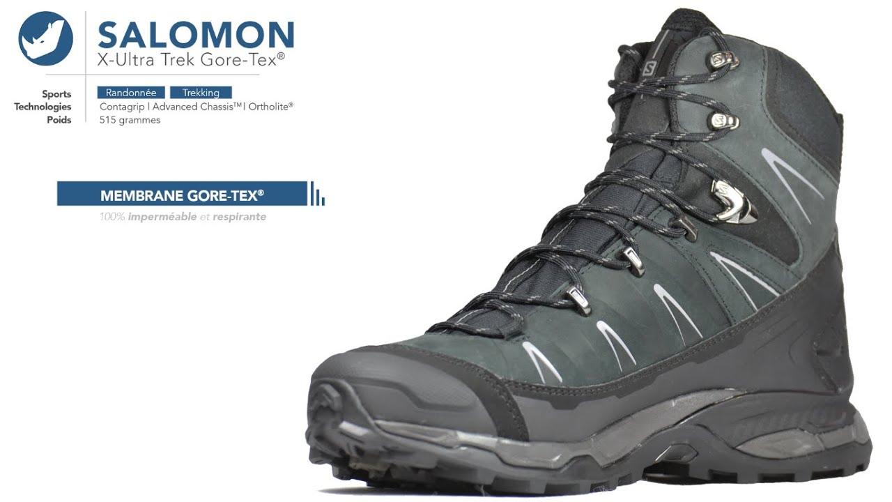 Salomon Chaussure de trek gore-tex X Ultra Trek GTX DJXkl