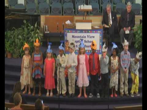 Mountain View Baptist Church 5/24/17 K-5 Graduation