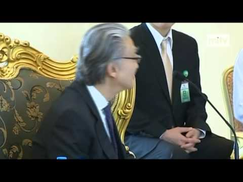 mitv - Economic Coop: President Met Korean Delegation