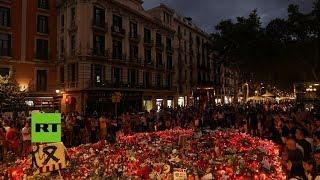 Pánico y unidad, la imagen social que dejan los atentados en Cataluña