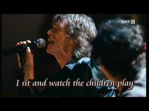 Rolling Stones - AS TEARS GO BY - KARAOKE (HD)