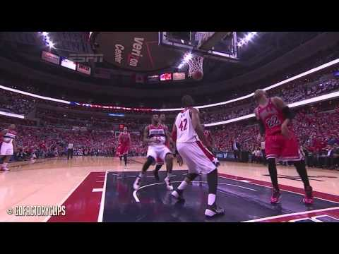 Mike Dunleavy & Jimmy Butler Full Combined Highlights at Wizards - 2014 Playoffs East R1G3