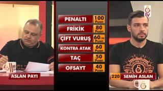 GSTV| Volkan Karsan'ın sunduğu Aslan Payı'nın 21.Bölümü