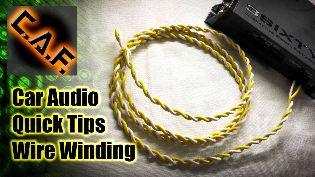 how to wind wire in a car audio install car audio quick tips rh youtube com car audio install tips car audio install tips