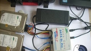 DFL-DDP USB3.0 Data Recovery Equipment Images Faulty Hard Drives