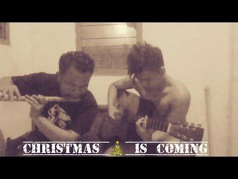 Lagu Natal Malam Kudus - Instrument Seruling + Akustik