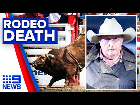 Man dies after being charged by bull | 9 News Australia thumbnail